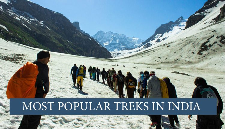Going on treks in India