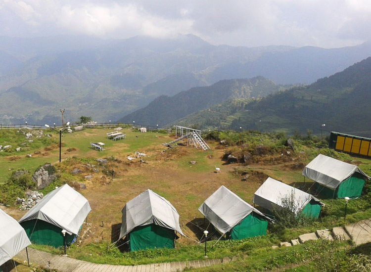 Camping in Mussoorie, Uttarakhand