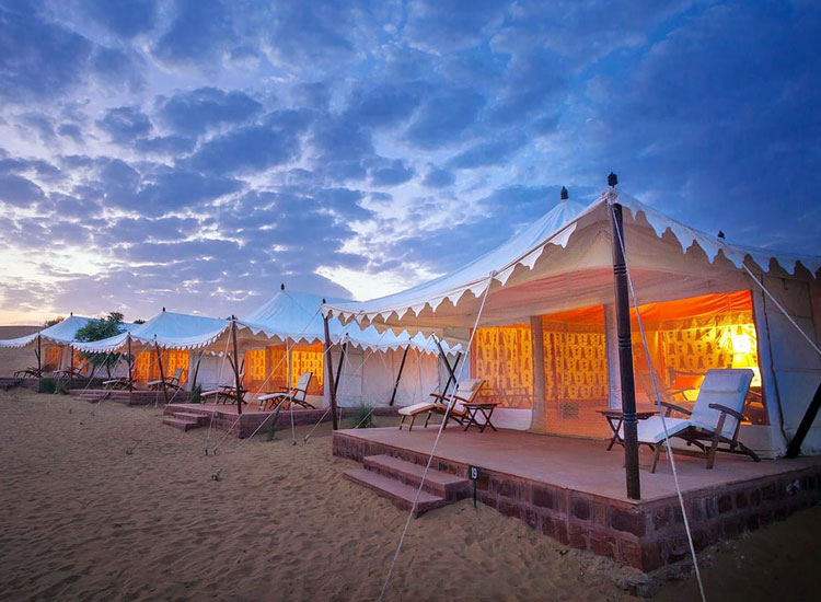 Glamping and Camping in India
