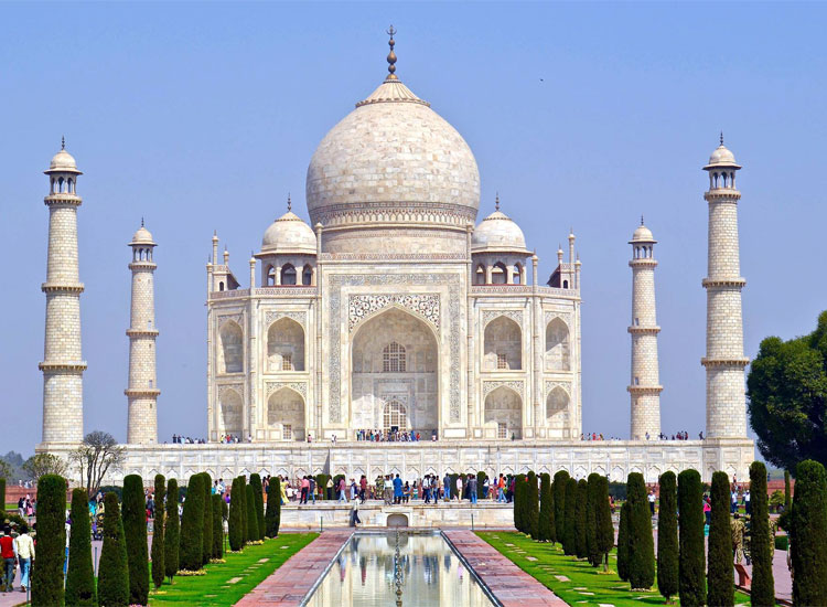 Taj Mahal, historic places
