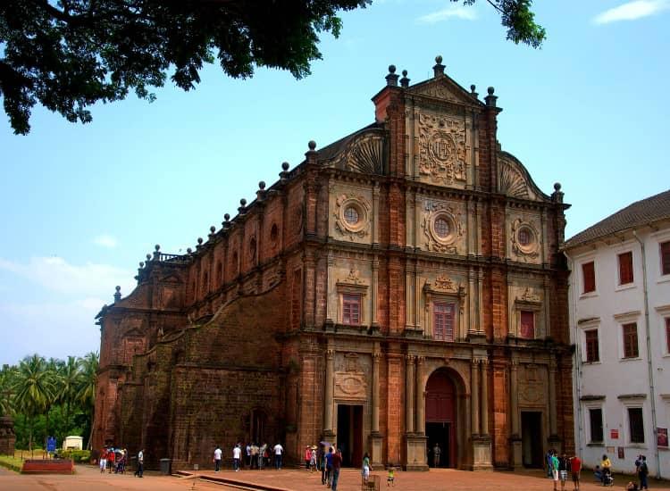 Basilica of Bom Jesus Church located in Goa