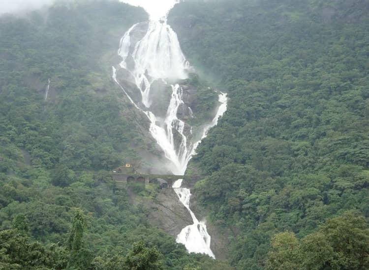 Dudhsagar Falls of Goa