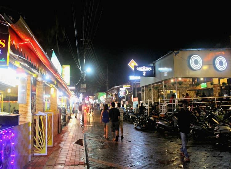 Tito's Lane in Baga beach