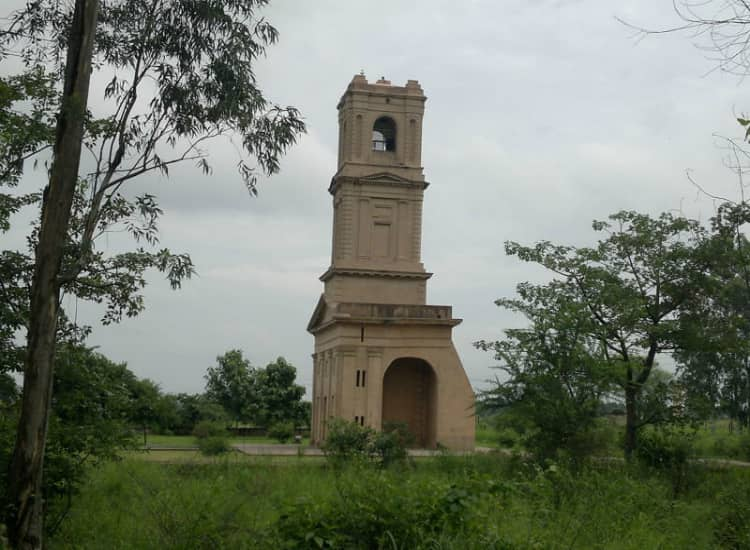 Cantonment Church Tower in Karnal