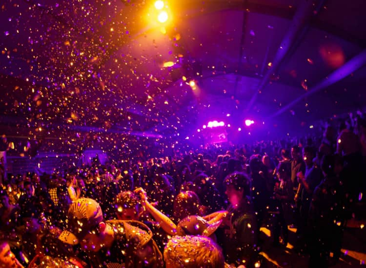 New year party in Bangalore