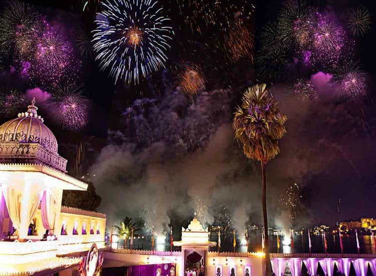 Party in Udaipur during New Year