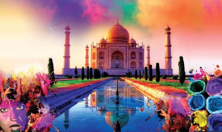 Holi Celebration in Agra enjoy in 2021