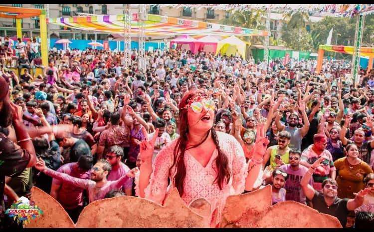 Colorland Goa Holi event