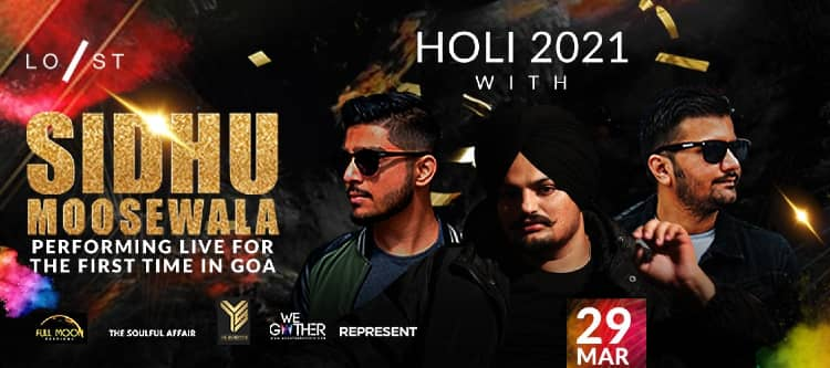 Enjoy holi with Sidhu Moosewala
