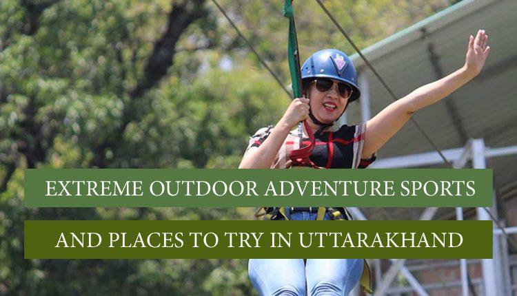 adventure activities in uttarakhand