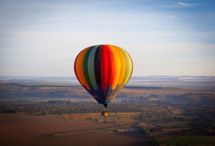 Hot air balloon rides in Delhi