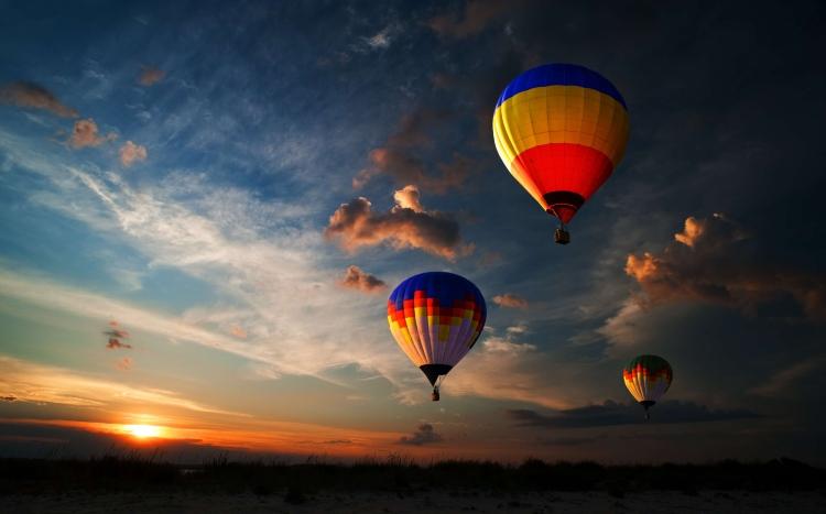 Hot air balloon rides in Goa