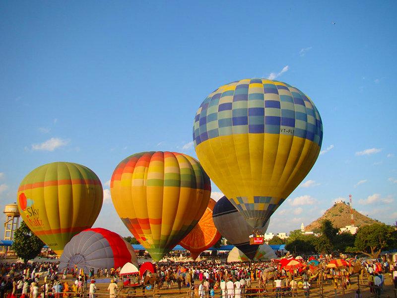 Hot Air Balloon in Jaipur